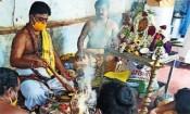 தேவபாண்டலத்தில் கொரோனா தாக்கம் குறைய யாக பூஜை