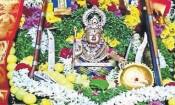 சுவாமி ஐயப்பனுக்கு மலர் அபிஷேகம்